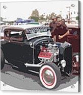 Custom Ford Coupe Acrylic Print