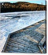 Cypress Hills Alberta Acrylic Print