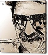 Dale Earnhardt Sr In 1995 Acrylic Print