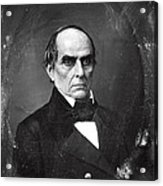 Daniel Webster Acrylic Print by Photo Researchers
