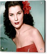Debra Paget, Ca. 1950s Acrylic Print