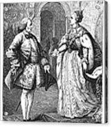 Denis Diderot (1713-1784) Acrylic Print