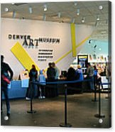Denver Art Museum 2010 Acrylic Print
