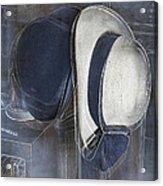Deux Chapeaux Acrylic Print