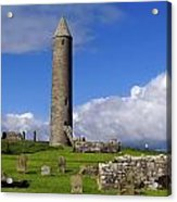 Devenish Monastic Site, Co. Fermanagh Acrylic Print