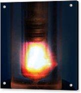 Diesel Engine Compression Demonstration Acrylic Print