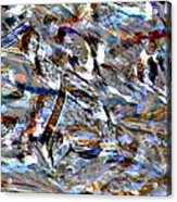Digital Fall Acrylic Print