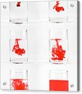 Dissolving Dye Acrylic Print