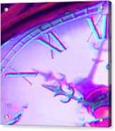 Distorted Time Acrylic Print