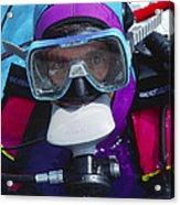Diver Communication System Acrylic Print