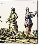 Divining Rod, 17th Century Acrylic Print