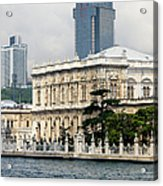 Dolmabahce Palace In Istanbul Acrylic Print