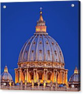 Dome San Pietro Acrylic Print