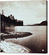 Donner Lake - California - C 1865 Acrylic Print