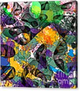 Dont Fall On The Road 3d Abstract I Acrylic Print