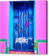 Doors Of Oaxaca Acrylic Print