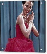 Dorothy Dandridge, 1954 Acrylic Print by Everett