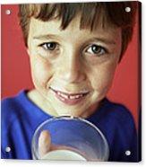 Drinking Milk Acrylic Print