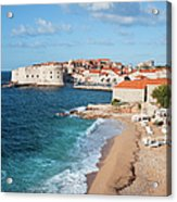 Dubrovnik Scenery Acrylic Print