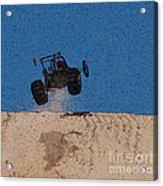 Dune Buggy Jump Acrylic Print