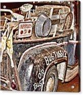 Eddie Bauer Bug Tussle Pick Up Acrylic Print