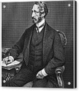 Edward Bulwer Lytton Acrylic Print