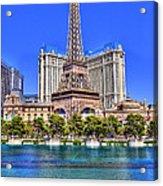 Eiffel Tower Las Vegas Acrylic Print