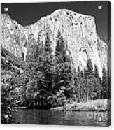 El Capitan And Merced River Acrylic Print
