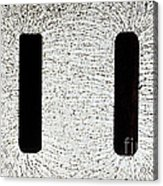 Electrostatic Field Lines Acrylic Print