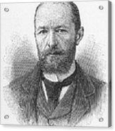 Emil Von Behring (1854-1917) Acrylic Print