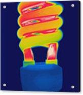 Energy Efficient Fluorescent Light Acrylic Print
