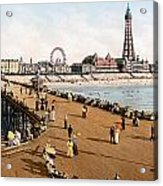 England: Blackpool, C1900 Acrylic Print