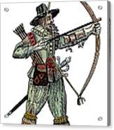 English Archer, 1634 Acrylic Print