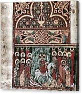 Entry Into Jerusalem Acrylic Print