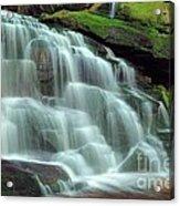 Evening At The Falls Acrylic Print