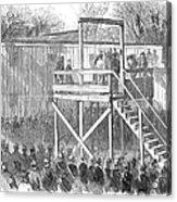 Execution Of Henry Wirz Acrylic Print