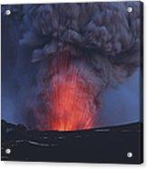 Eyjafjallajökull Eruption, Iceland Acrylic Print