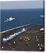 Fa-18f Super Hornets Launch Acrylic Print
