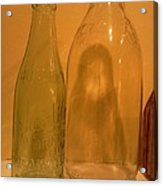 Face In The Bottle Acrylic Print