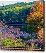 Fall By The River 4 Acrylic Print