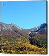 Fall Mountains Acrylic Print