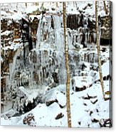 Falling Springs  Acrylic Print