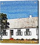 Farm House Acrylic Print by Werner Lehmann