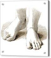 Feet, Artwork Acrylic Print