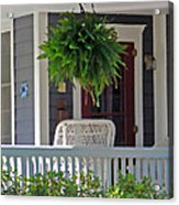 Fern On Front Porch Acrylic Print
