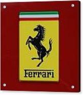 Ferrari Stallion Acrylic Print