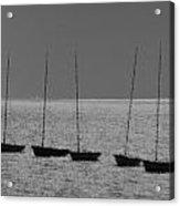 Fishing Boats Art Acrylic Print