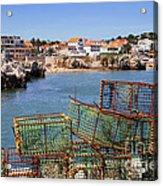 Fishing Traps Acrylic Print by Carlos Caetano