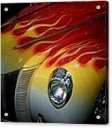 Flaming Beauty Acrylic Print