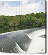 Flatrock Dam Acrylic Print